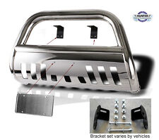 03-09 Toyota 4-Runner 03-10 Lexus GX470 chrome Bull Bar in Stainless Steel