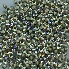 1028 Pp32 VL 25 Strass Swarovski fond conique 4mm Vitrail Light F