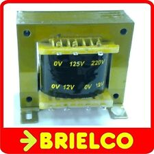 TRANSFORMADOR DE ALIMENTACION 220VAC A 12V+12V 3A 24V 1.8A CHASIS ABIERTO BD8323