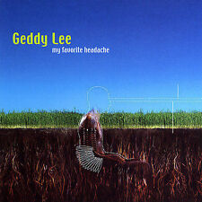 CD: My Favorite Headache by Geddy Lee (Rush)