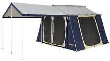 OZTRAIL CANVAS CABIN TENT 12 x 9  *BRAND NEW*
