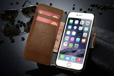 """For Apple iPhone 6 plus 5.5"""" Leather  Case  Genuine Flip-  Red+gift"""