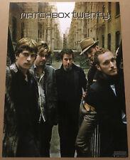 Rob Thomas MATCHBOX TWENTY Rare 2002 PROMO POSTER for More CD 18x24 MINT 20 USA
