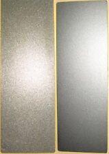 "New 2"" x 6"" Double Sided Diamond Sharpening Stone Block Grit 400 & 600"