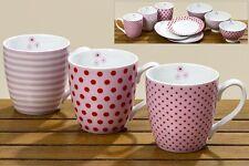 3 Jumbobecher Mixit 400 ml Kaffeetassen Spruch Küche Becher 1002805 Tasse Punkte