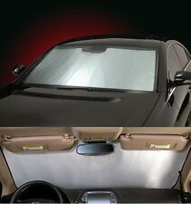 SILVER Sun Shade for windshield - CUSTOM Precision Cut - Pontiac