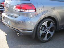 Volkswagen Golf GTI Rear Bumper Light Reflector Overlays Black Out Vinyl Film VW