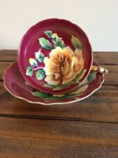 Vintage Orion China Hand Painted Tea Cup & Saucer