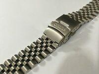 SEIKO 20MM DIVERS JUBILEE STAINLESS STEEL WATCH STRAP/BAND,STRAIGHT LUGS,(BD-8)