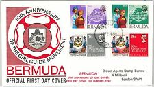 BOY SCOUTS --- BERMUDA -  POSTAL HISTORY - FDC COVER 1969