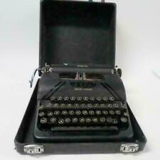 Smith Corona Sterling VTG Portable Manual Typewriter Black