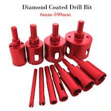 6mm - 100mm Diamond Hole Saw Drill Core Bits Tile Ceramic Porcelain Stone Marble