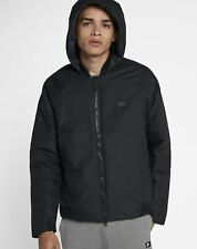 Nike Down Fill Bomber Jacket with Hood 866022-010 Black Small