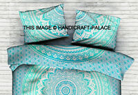 Ombre Mandala Cotton Pillow Cover Bedding Sofa Indian Pillow Sham Pillow Case