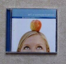"CD AUDIO MUSIQUE / LIFSCAPES ""ART OF CONCENTRATION"" 2007 CD COMPILATION  NEUF"