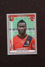 Vignette Sticker PANINI Foot 2011 2012 N°393 ALEXANDER TETTEY STADE RENNAIS FC