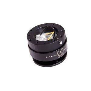 NRG SRK-200BK Ball Lock Steering Wheel Quick Release GEN 2.0 Gloss Black Body &