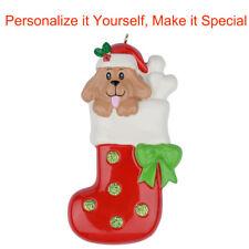 MAXORA Pet Dog Personalized Christmas Ornaments Christmas Gift