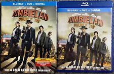 ZOMBIELAND DOUBLE TAP BLU RAY DVD 2 DISC + SLIPCOVER SLEEVE FREE WORLD SHIPPING