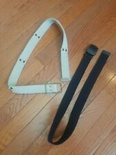 Boys Belts Size 7 Lot Of 2 Black Khaki