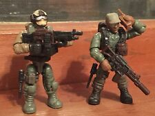 Custom Marine Squad Soldier Action Figs & Weapon Pack For LEGO / Mega Bloks Sets