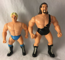 Lot of 2 Vintage Wrestling Figures WCW OSFT 1998 - The Giant & Ric Flair