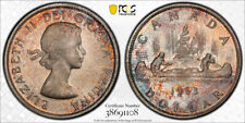 1963 Silver Dollar $1 PCGS MS-65 - Superb Golden Tones