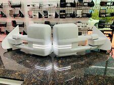 2014-18 Silverado / Sierra Tow Mirrors painted Summit White / with Switchbacks