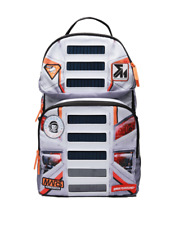 Sprayground Mission To Mars Solar Panel Buzz Aldrin Collab Backpack Book Bag