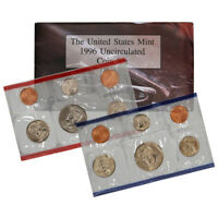 1996 United States Mint Uncirculated Coin Set (U96)
