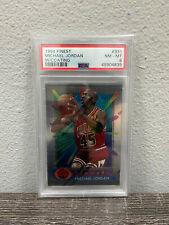 1994 Topps Finest Michael Jordan #331 W/Coating PSA 8 NM-MT Chicago Bulls HOF