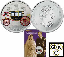 2007 Queen's 60th Wedding Anniversary Colorized 25ct (Oversized) (12210)