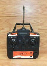 Genuine Yiboo Replacement Black & Orange Plastic Radio Remote Control Only
