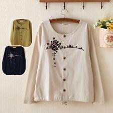 🎀 Brand New Japan Mori Style Floral Button Cute Cardigan Shirt Blouse Top XS