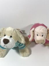 Ganz Webkinz Loy Of 2 Dog Puppy And Pig With Clothes Plush (29)
