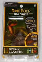 National Geographic Dino Poop Carded Mini Dig Kit - BNIB - 80472