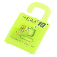 R-SIM10+ Plus RSIM Nano Unlock Card iPhone4S 5 5S 5CSE 6 6+ 6s 6s+ 4G LTE iOS9 ^