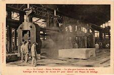 CPA  Le Creusot - Usines Schneider - Le plus gros Laminoir du Monde  (637940)