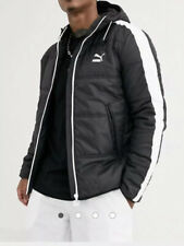 Puma padded jacket in black Size XXL