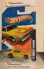 '71 Dodge Demon #84 * Yellow Kmart Only * 2011 Hot Wheels * Y56
