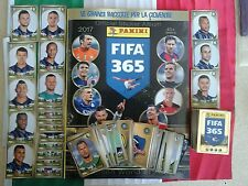 Album Fifa 365 2016 17 panini set completo 672 stickers + 28 extra international