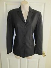BROOKS BROTHERS* LADIES GRAY STRETCH WOOL DRESS JACKET BLAZER 2 *VGUC* MADE USA