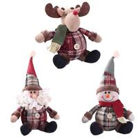 Christmas Santa Claus Snowman Ornament Festival Party Xmas Table Decor Braw hi