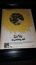 Foxy Get Off Rare Original Promo Poster Ad Framed!
