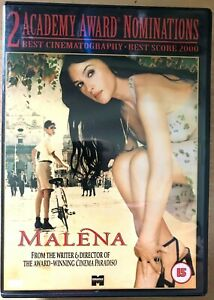 Malena DVD 2000 Italian World Cinema Erotic Drama Classic with Monica Bellucci