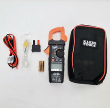 Klein Tools CL800 Digital Auto-Ranging AC/DC 600A Clamp Meter Kit 11/B7354A