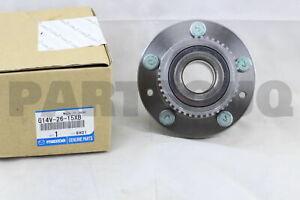 G14V2615XB Genuine Mazda BEARING & HUB G14V-26-15XB