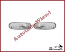 Blinker Satz Set Silber Klarglas Links Rechts für VW NEW BEETLE 98-05 Neu