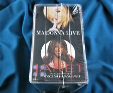 MADONNA SEALED VHS PROMO BOX SET HBO MOVIES DROWNED WORLD TOUR JANET BRITNEY