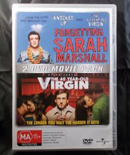 Forgetting Sarah Marshall / The 40 Year Old Virgin - DVD - Region 2&4 - 2 Discs